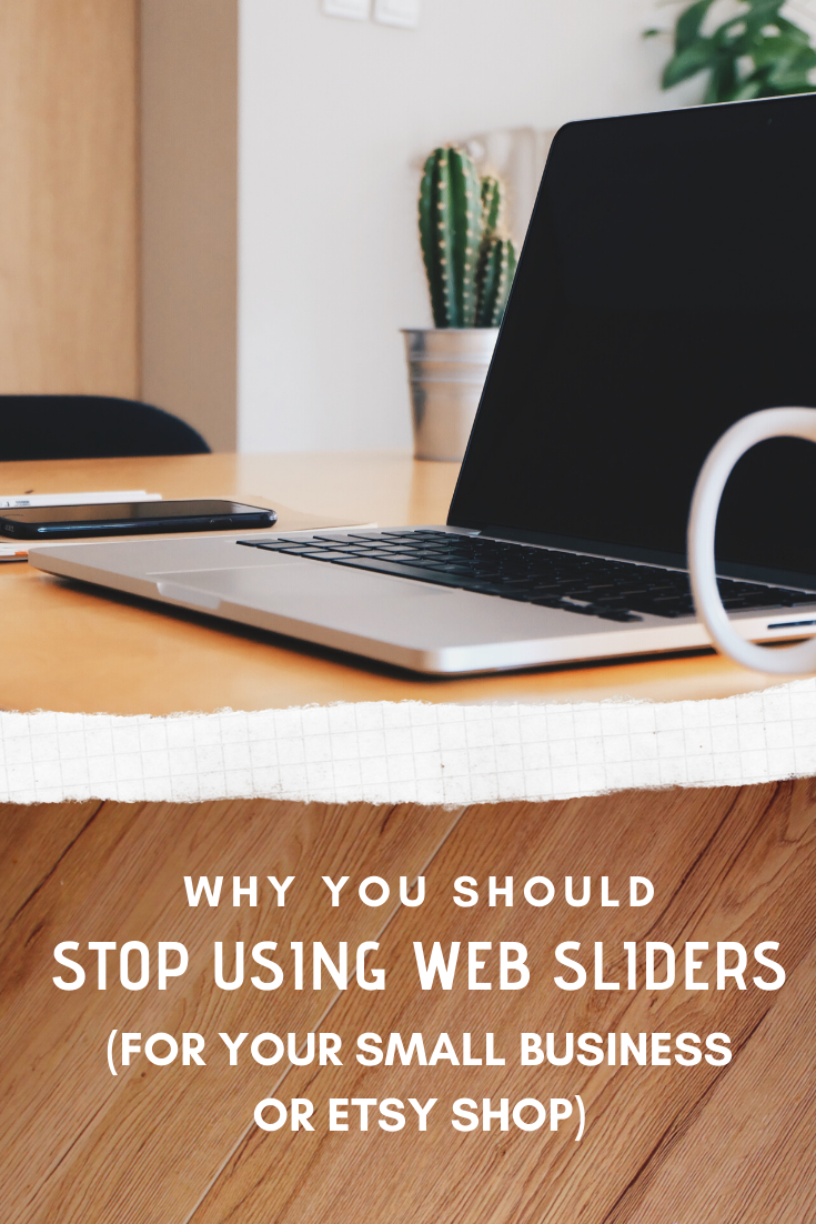 The Problem with web Sliders