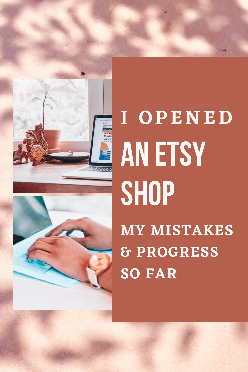 My mistakes opening an etsy shop