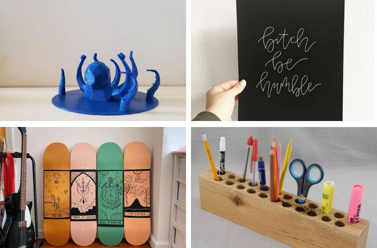 Cool creative things to create for your Etsy store