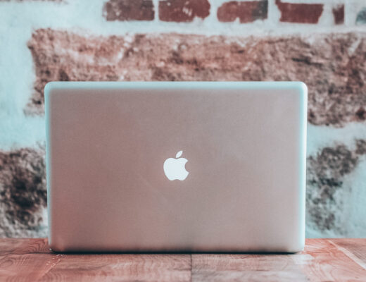 Laptop on a desk. 3 Truths about Online Business
